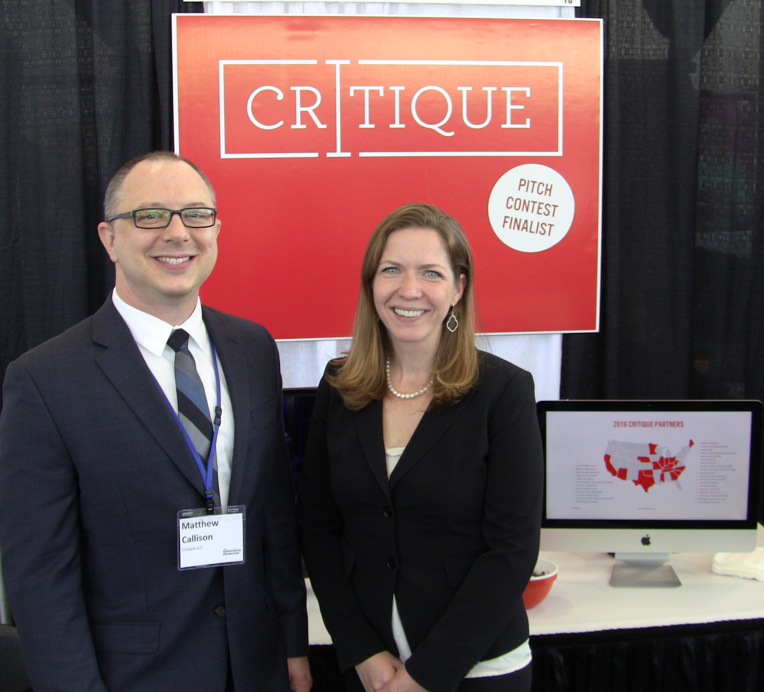 Co-founders Matthew Callison and Tiffany Roman of Round3 (Formerly Critique).