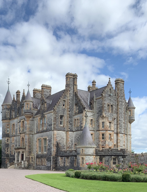Blarney House at Blarney Castle, Cork County, Ireland