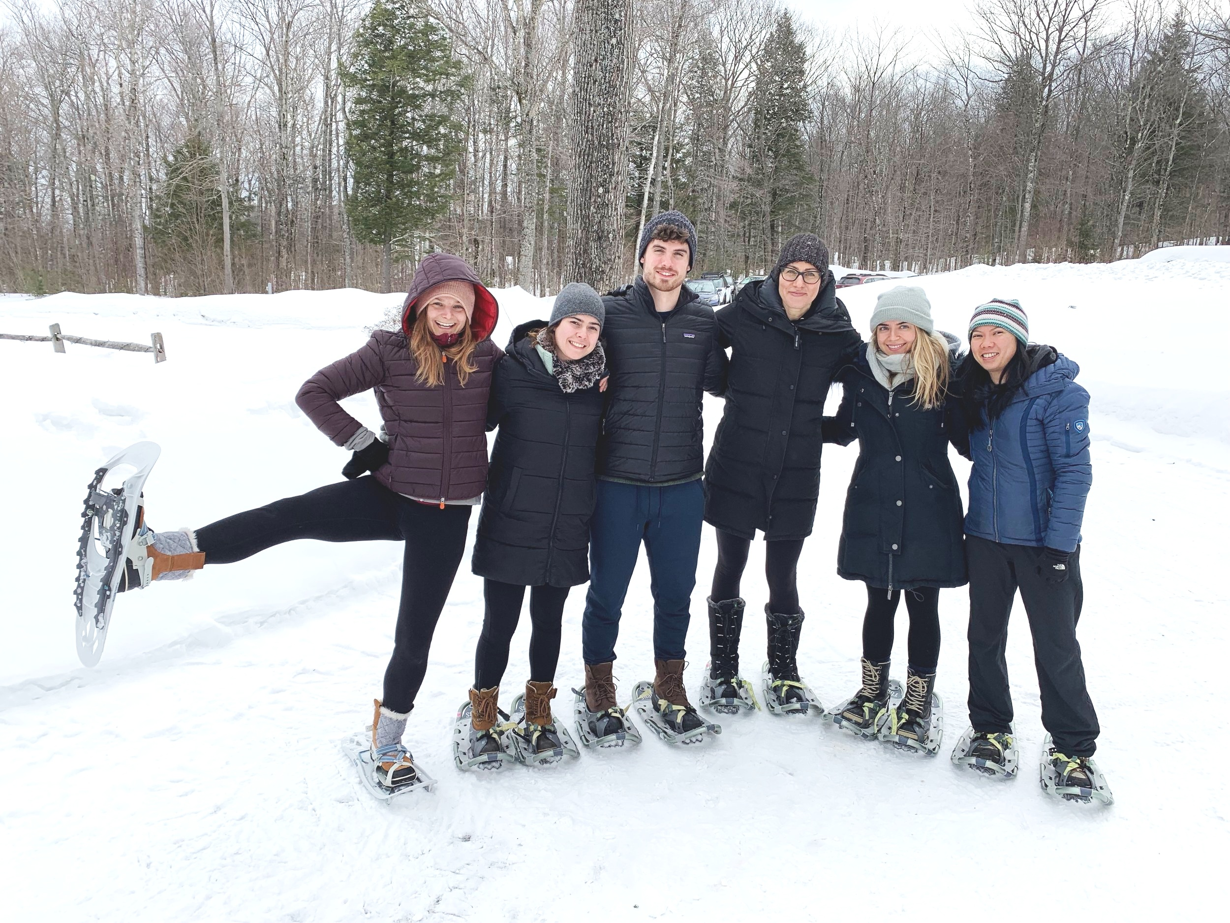 Our Snow-shoe group headed our for an after hike, North Sandwich, NH