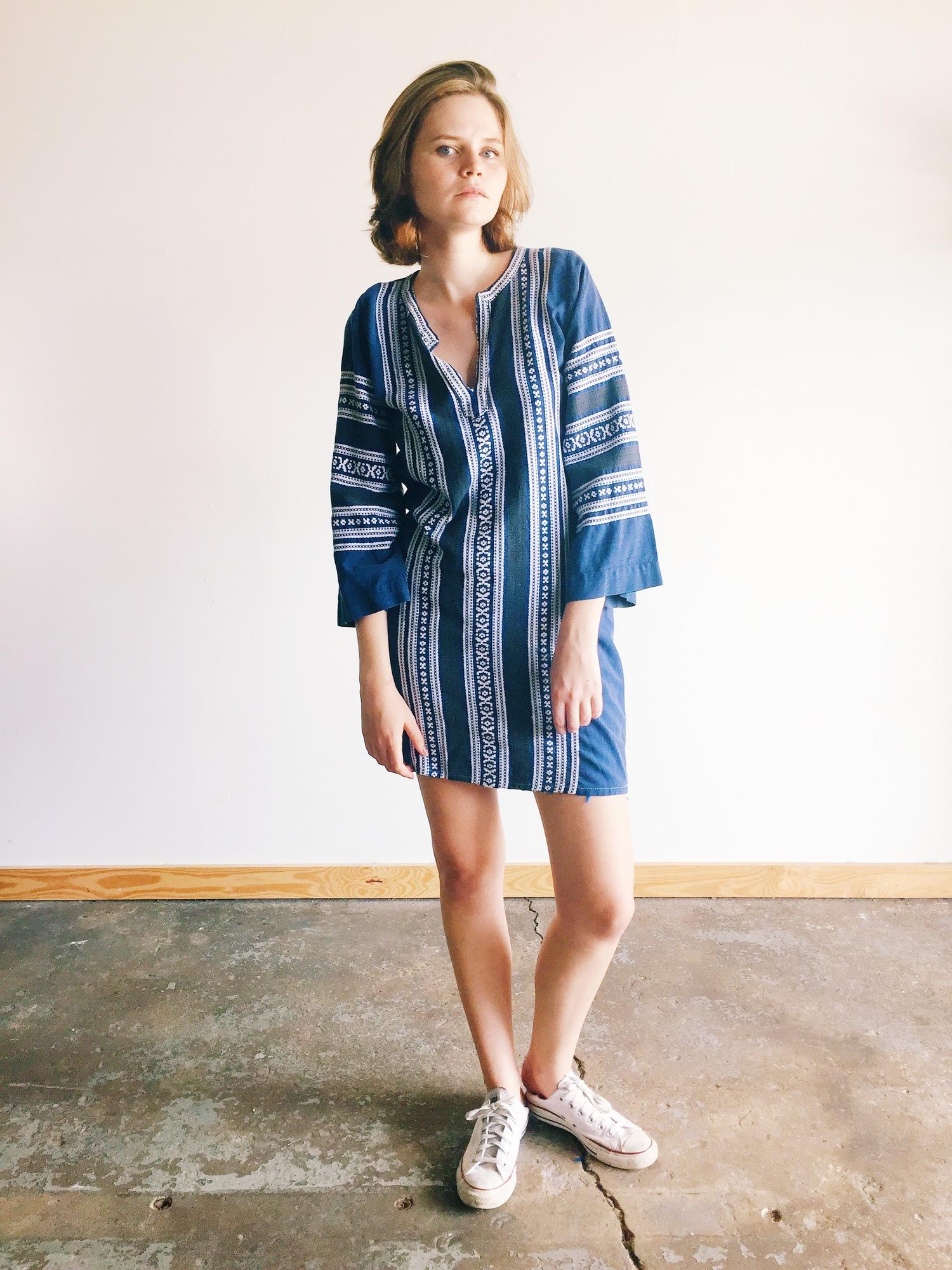 wonaponatime-vintage-stripe-dress-blue-lookbook