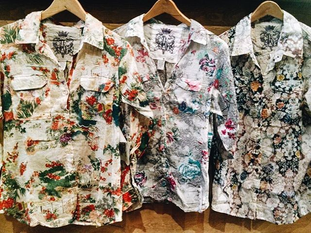 Spring break is almost here and it just got a little bit more interesting with these #JAK flower shirts. #shoptikal #floral #spring #springbreak #2016