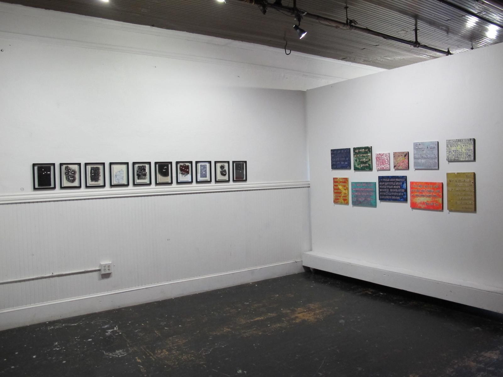 Installation View - Beyond the Vernacular, Mammal Gallery, Oct-Nov 2014