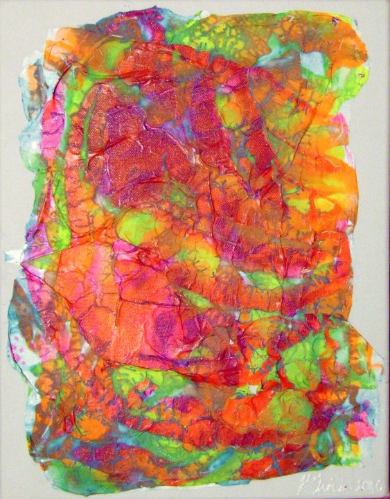 Heave/Acrylic on Canvas/2010  SOLD