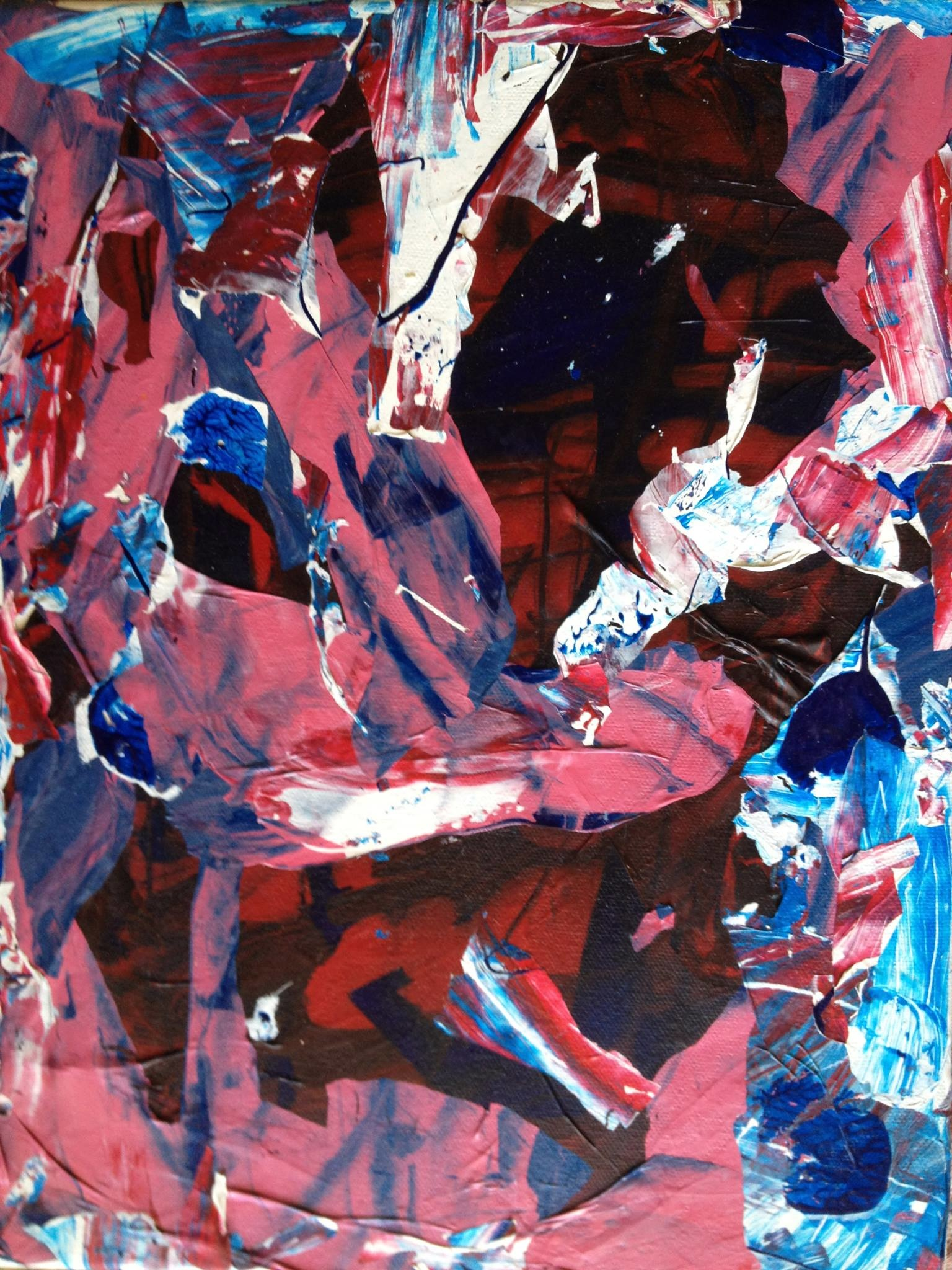 The First Time/Acrylic on Canvas/2010  SOLD