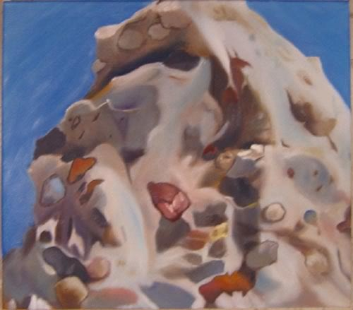 Will Cotton's Torone Mountian/Oil on Canvas