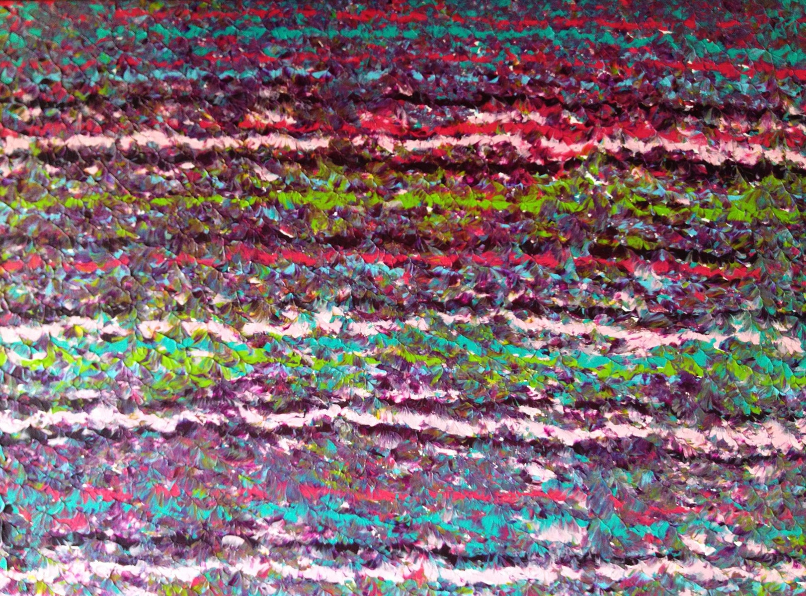 "Fuzzy Sweater 2/Acrylic on Canvas/16""x20""  $100"