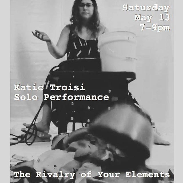 Saturday solo performance by @katietroisi  #hambidgehivecs #atlantaartist #clay #conceptualart #pottery #performance #processoriented #therivalryofyourelements #throwingclay