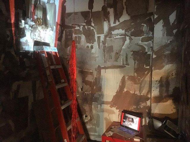 "@sub.mas has been installing in ""the red room"". Come to the #hambidgeHiVECS closing party on Saturday June 3, 6-10pm to check it out"