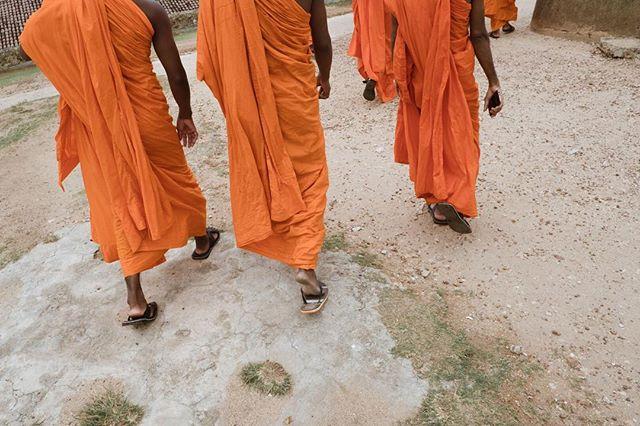 Monks, flip flops and smartphones