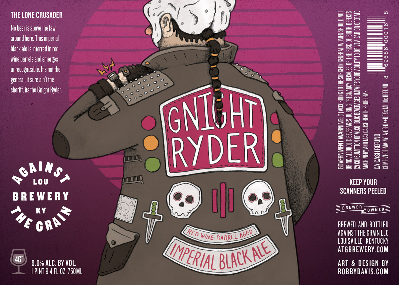 Against the Grain Gnight Ryder