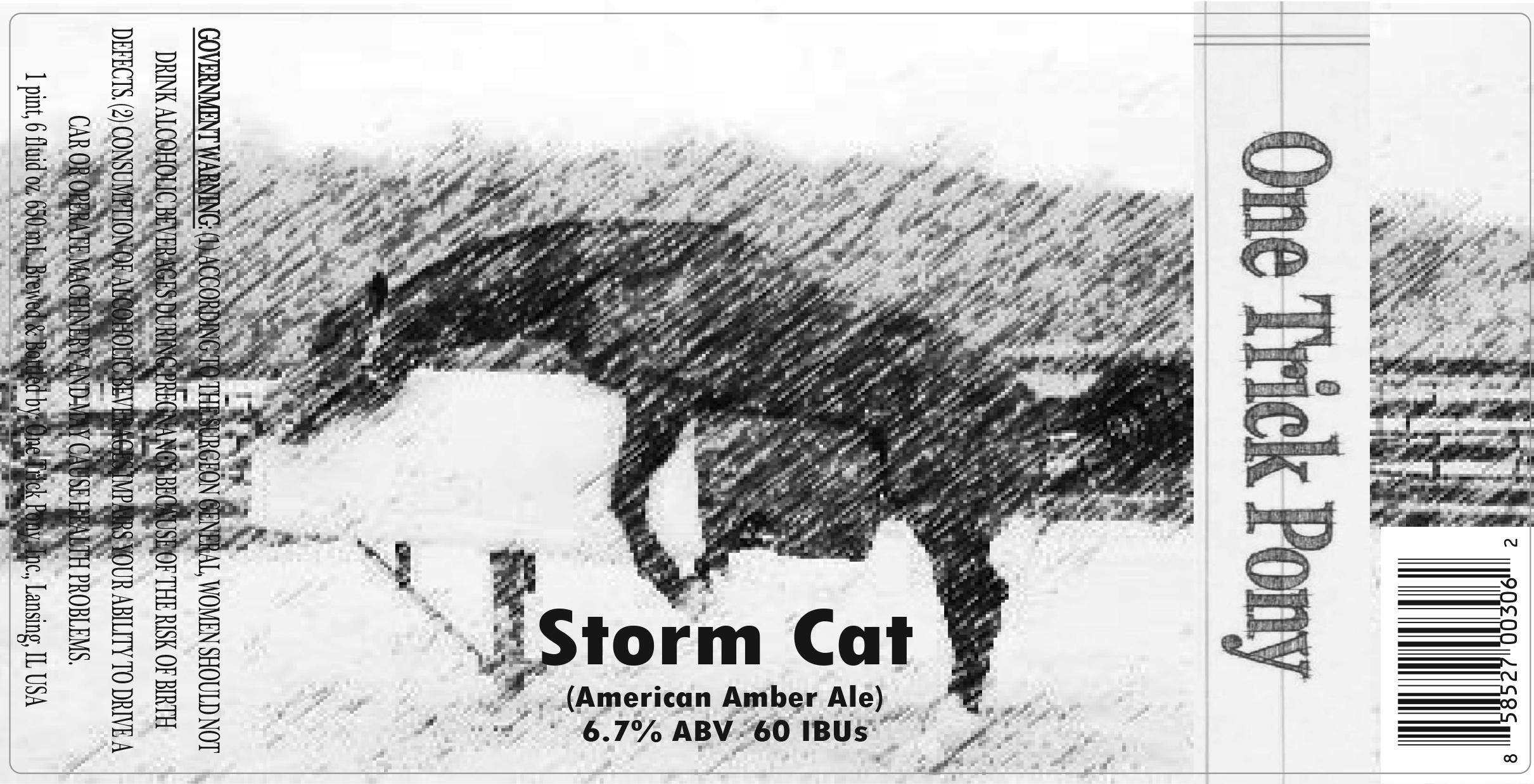 One Trick Pony Stormcat