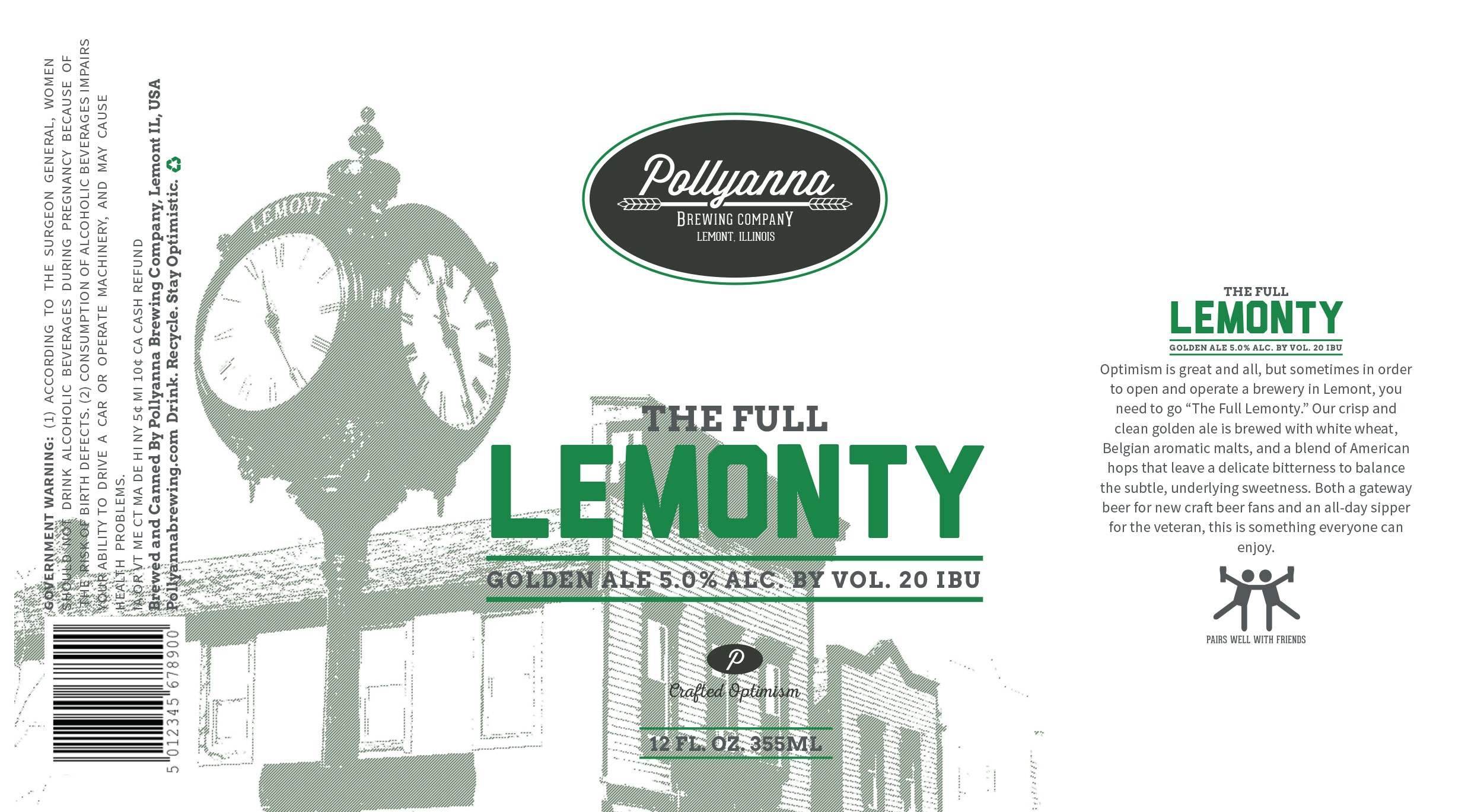 Pollyanna The Full Lemonty