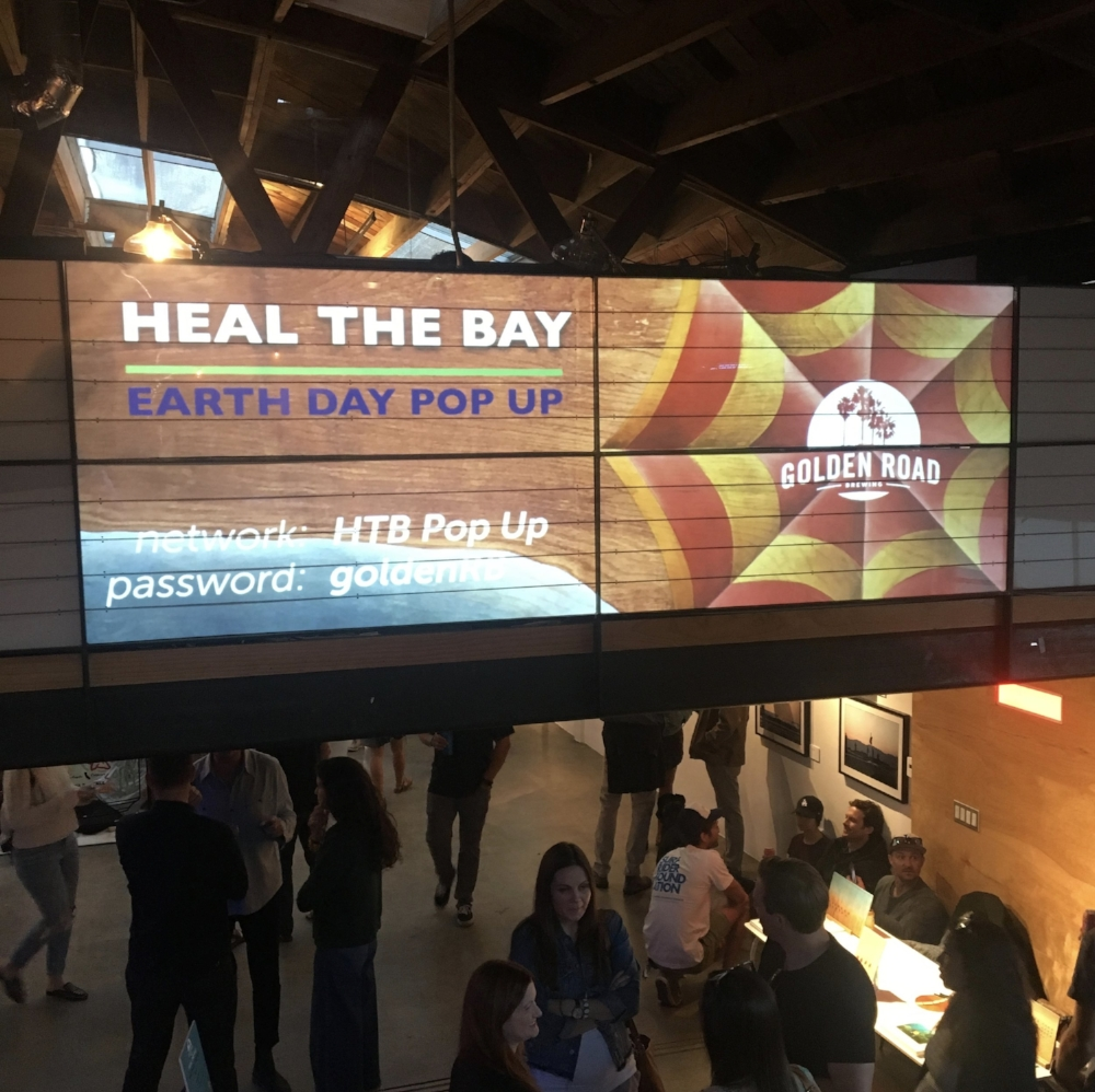 HEAL THE BAY // GOLDEN ROAD BREWERY EARTH DAY FUNDRAISER // VENICE, CA