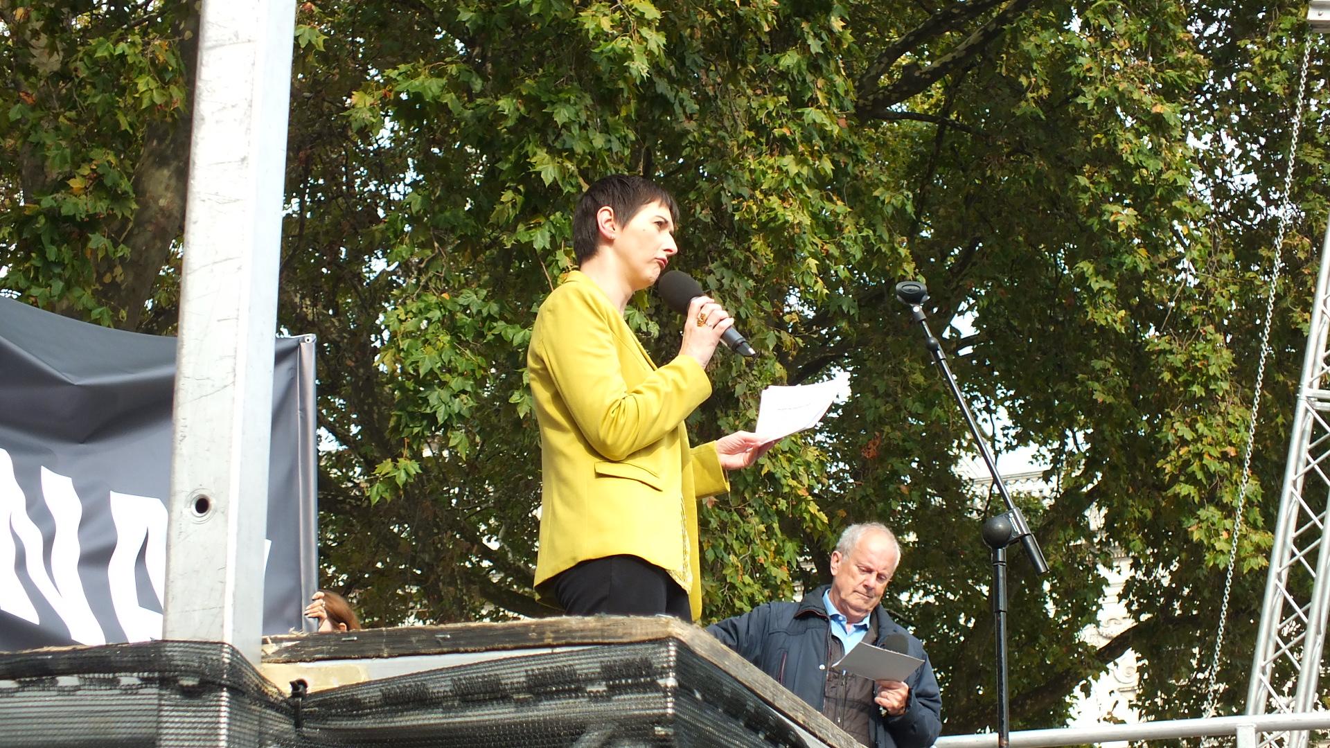 Lib Dem Mayoral Candidate Caroline Pigeon