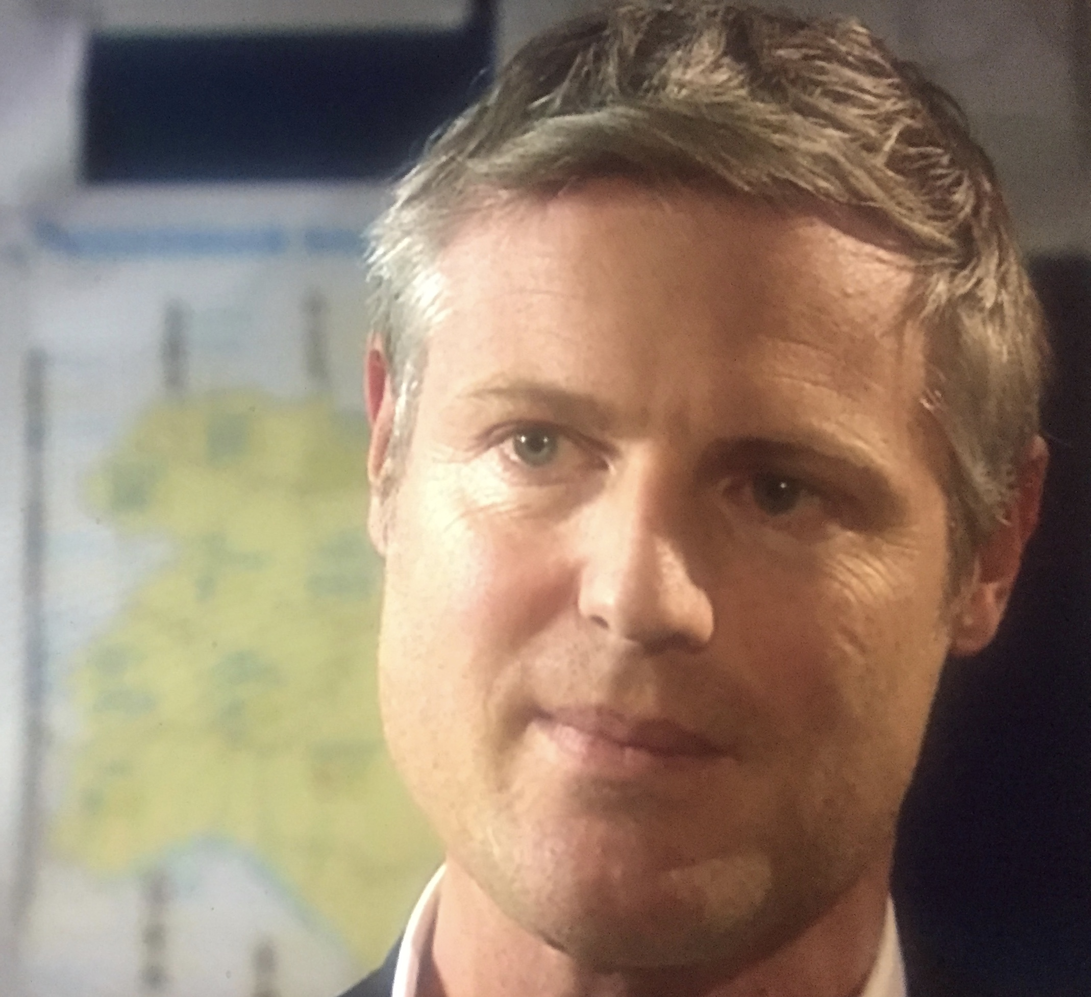 Zac Goldsmith MP interviewed in his constituency office