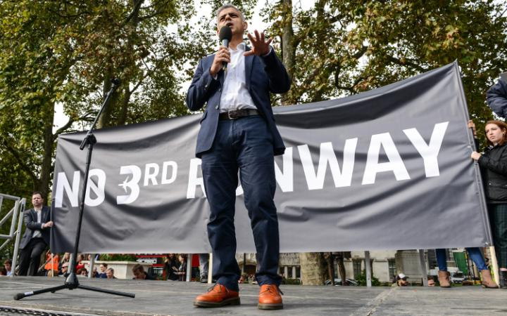 Sadiq Khan has made it clear he opposes Heathrow expansion