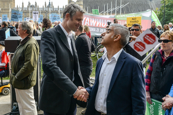 Khan and Goldsmith could agree on one thing - No Third Runway Rally 10th October 2015