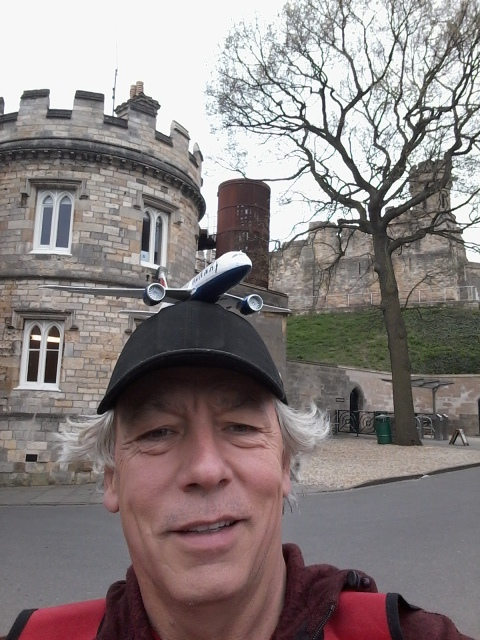 "Neil is enjoying being out in the ""fresh"" air in Lincoln"