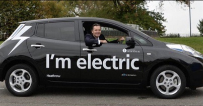 Heathrow boasts about on-airport electric charging points.....