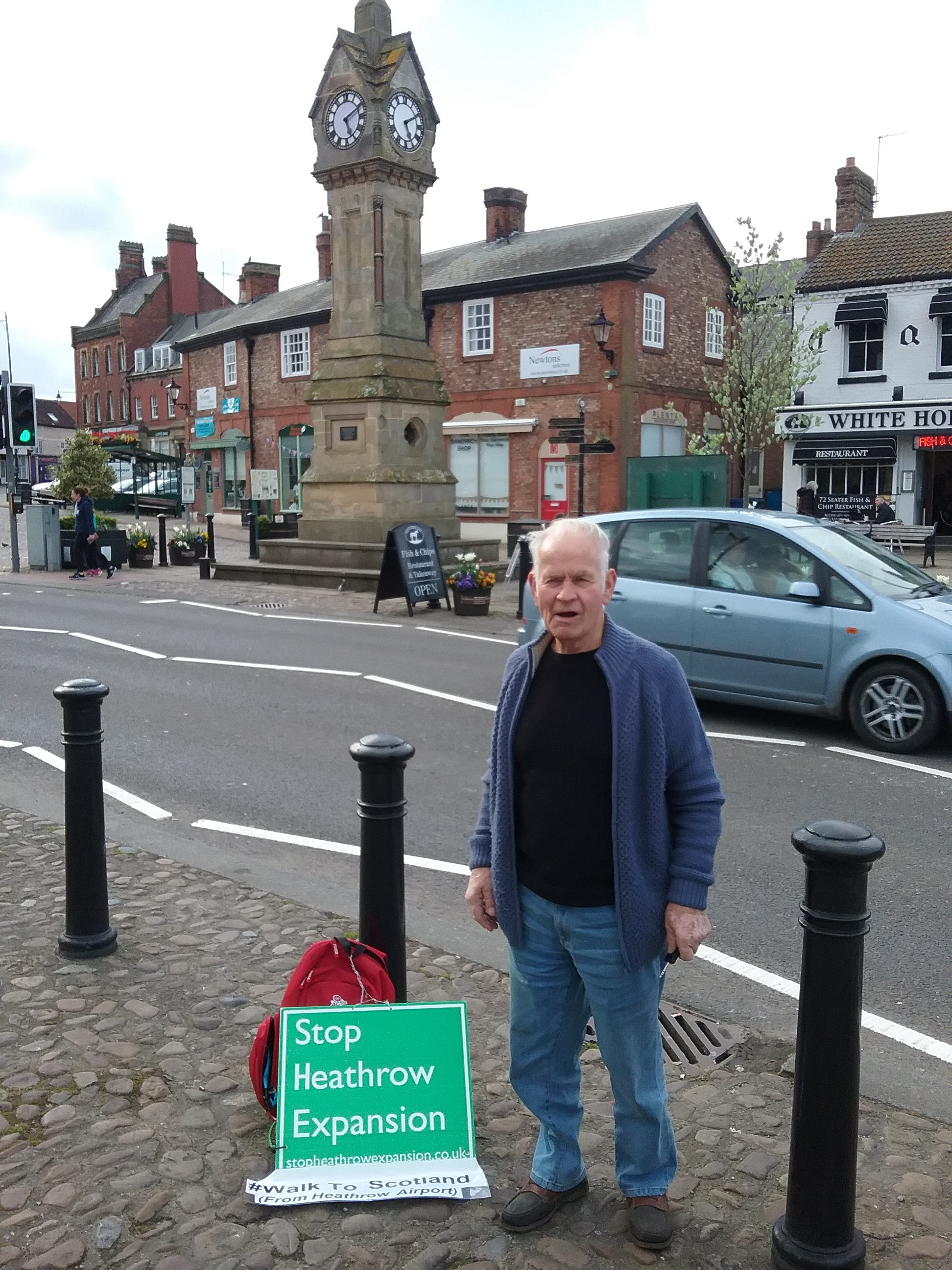 Thirsk:Lovely place but whatever you do Ray, don't lose the key to the van.