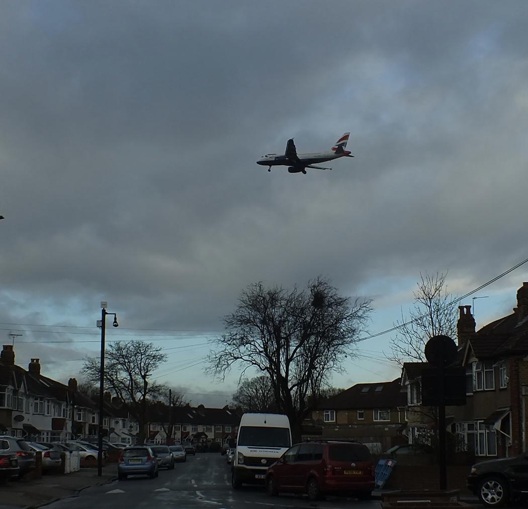 Gloomy prospect of more planes overhead
