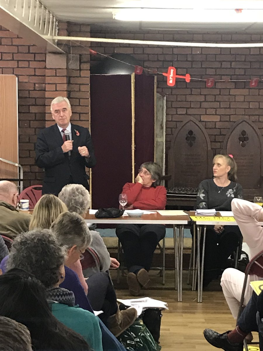 John McDonnell MP remains solidly with the residents fighting a third runway
