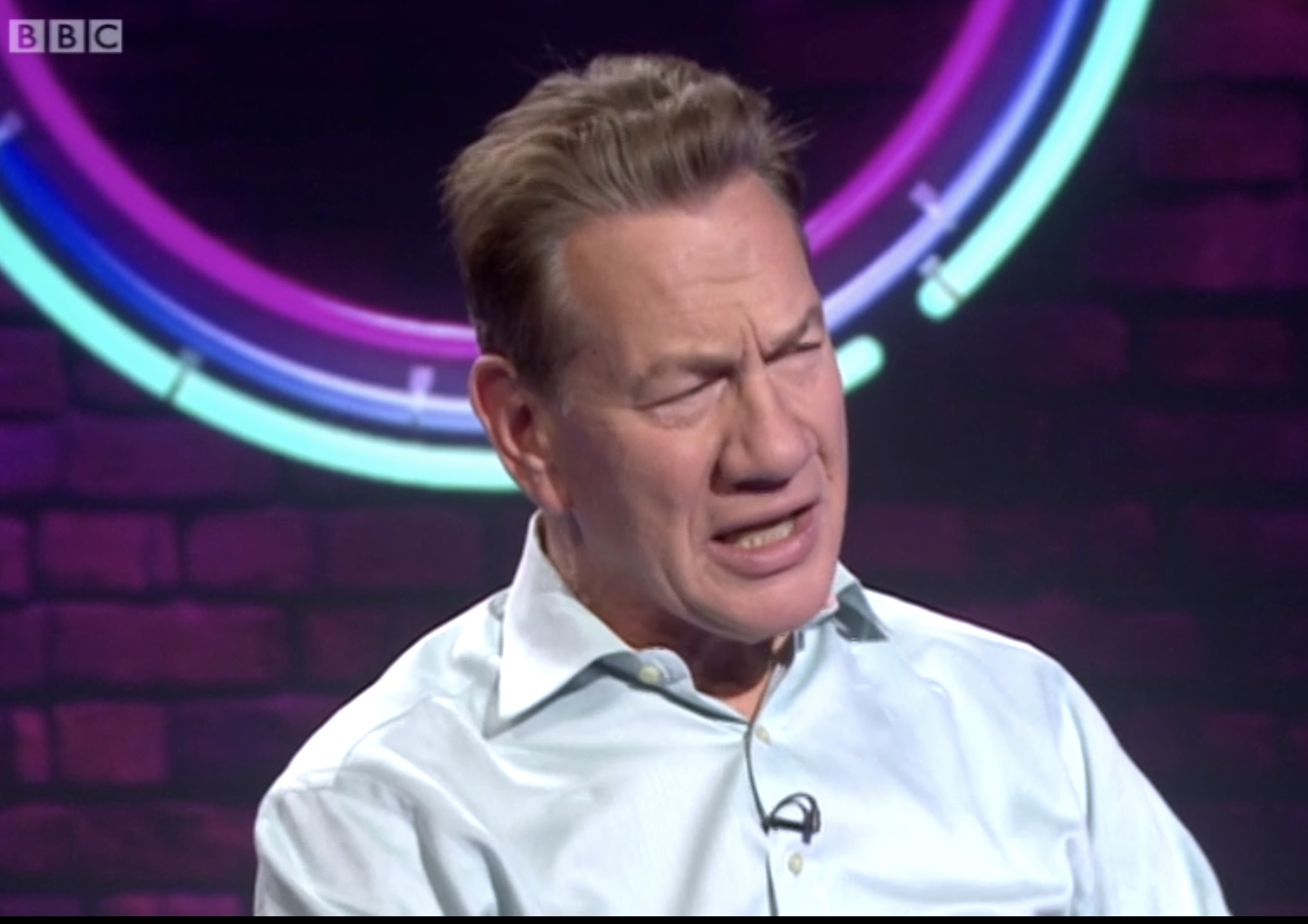 Michael Portillo on BBC's This Week programme