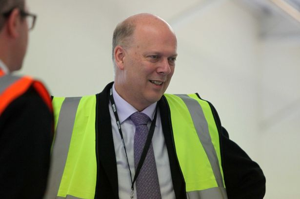 Grayling loves the old cliché of hi-vis to give the impression he is a man of action.