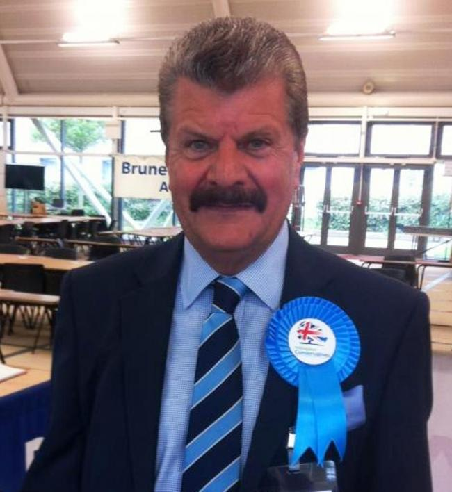 Cllr Ray Puddifoot in May2018 when the Conservatives increased their majority on Hillingdon council. Labour members of the council also oppose the third runway.