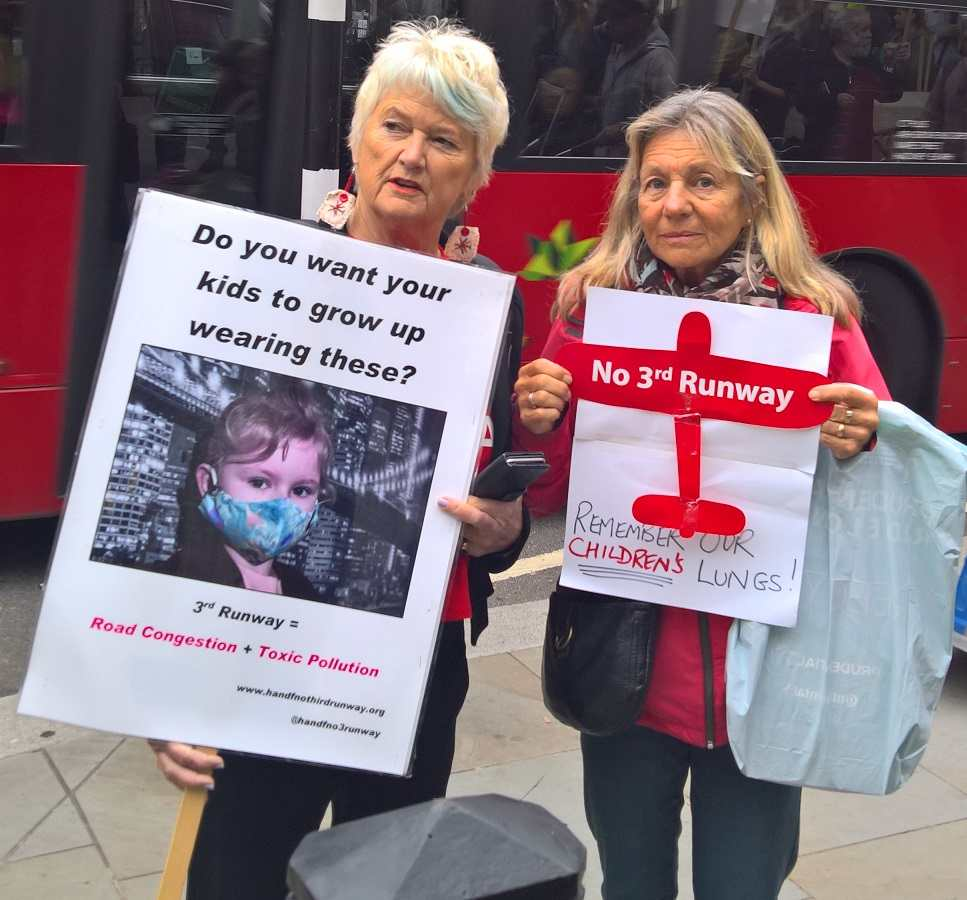 Two Hammersmith & Fulham residents remind us how children will suffer if a 3rd runway is built