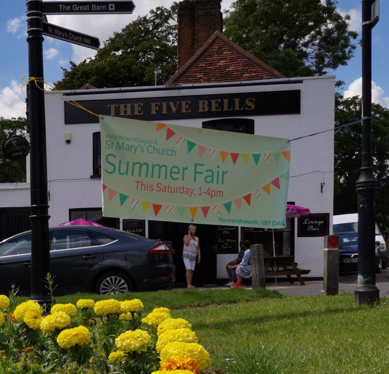 St Mary's Church Summer Fair in Harmondsworth