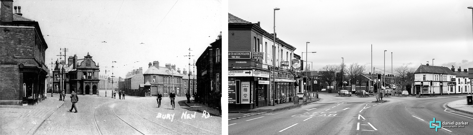 Bury New Road towards Lilyhill Street