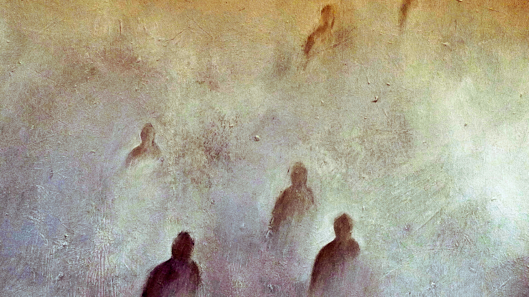 """ The mist "", oil on canvas, private collection"