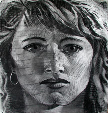 #273 PORTRAIT OF YOUNG GIRL, 1994