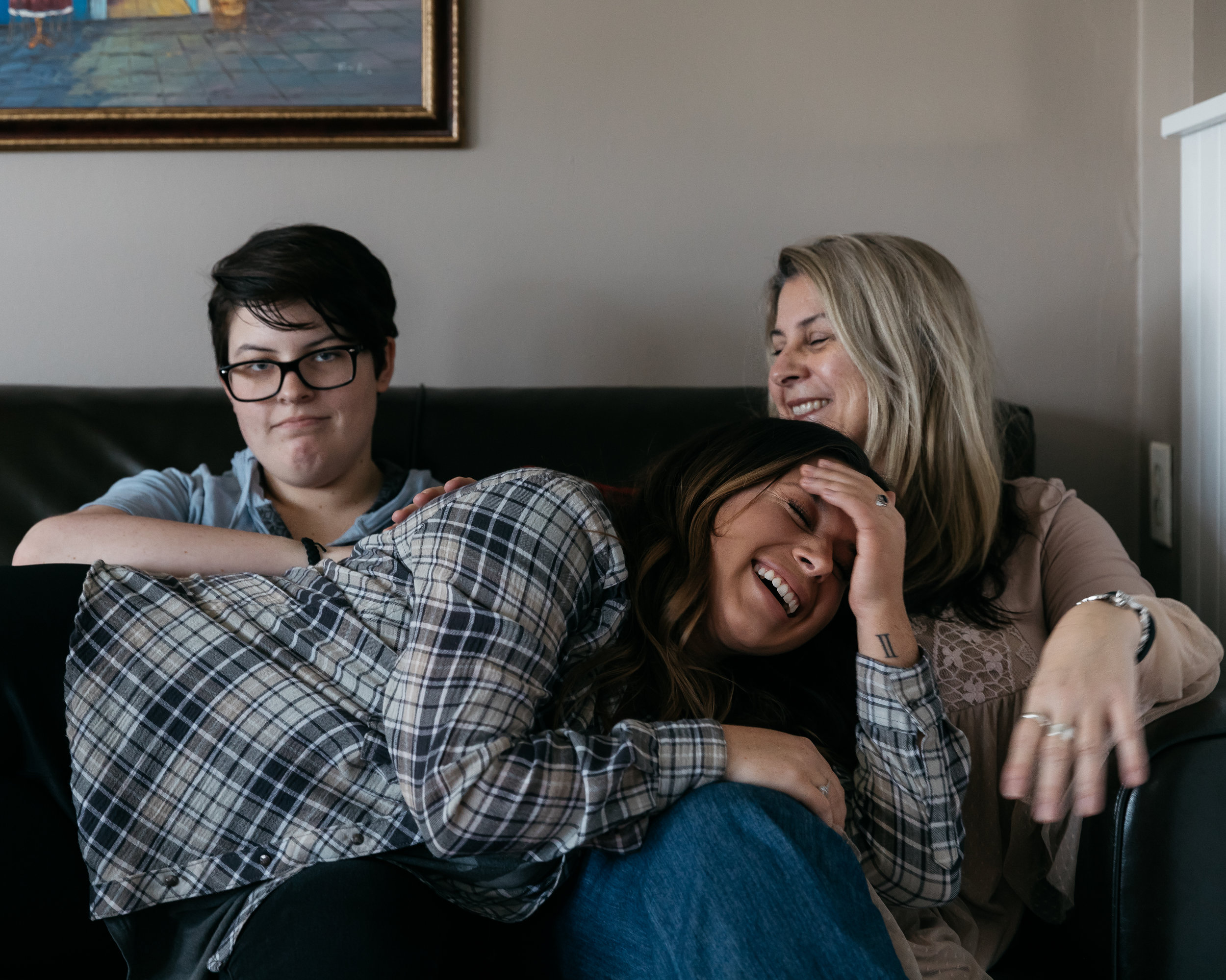 the women i grew up with: my mother and two sisters