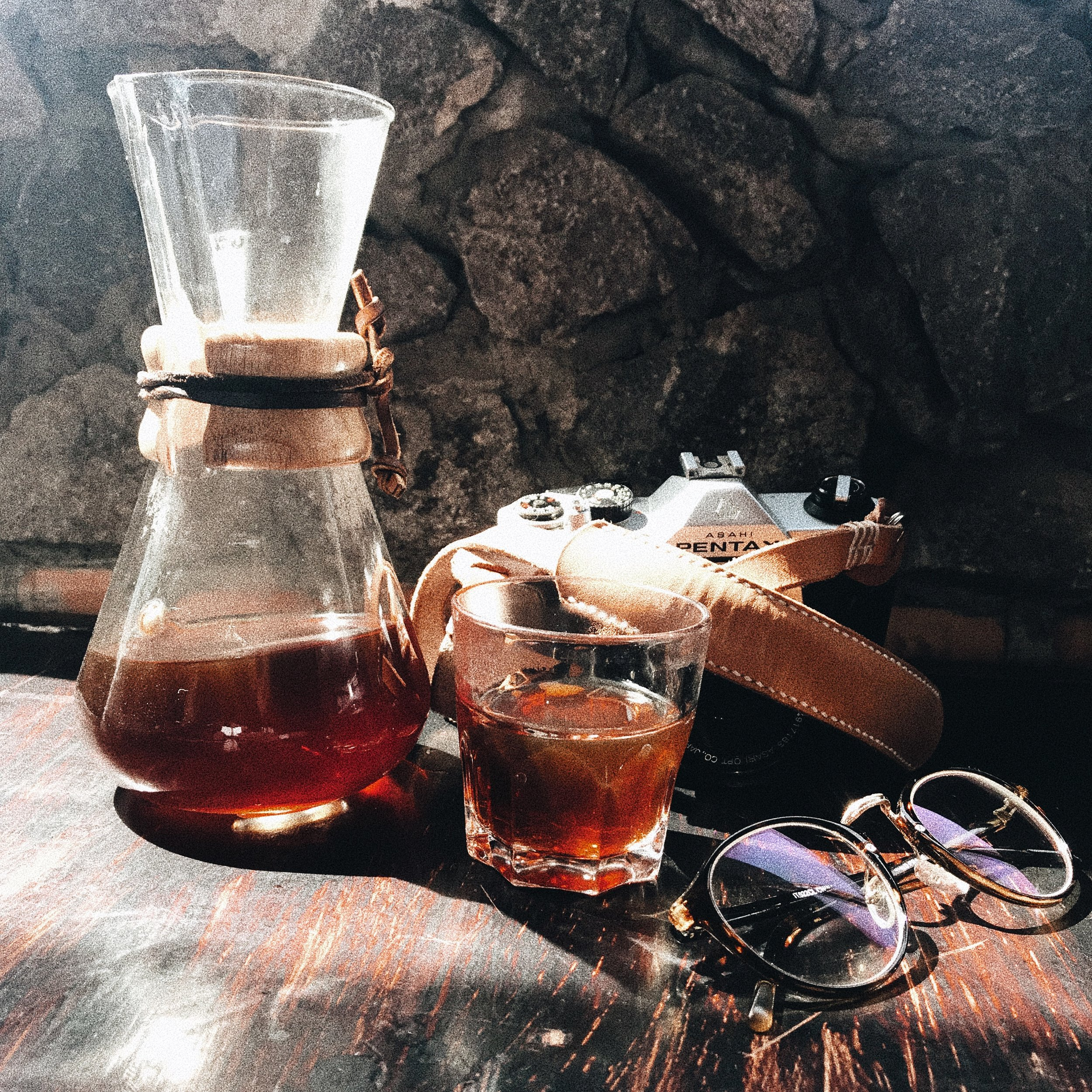 A Chemex is the perfect drink to enjoy the view at Buena Vista.