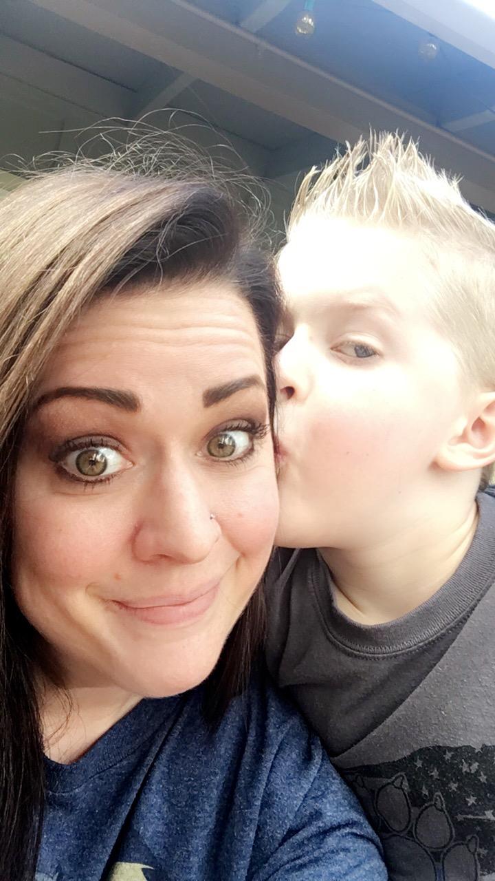 Kory Linn & Her Son