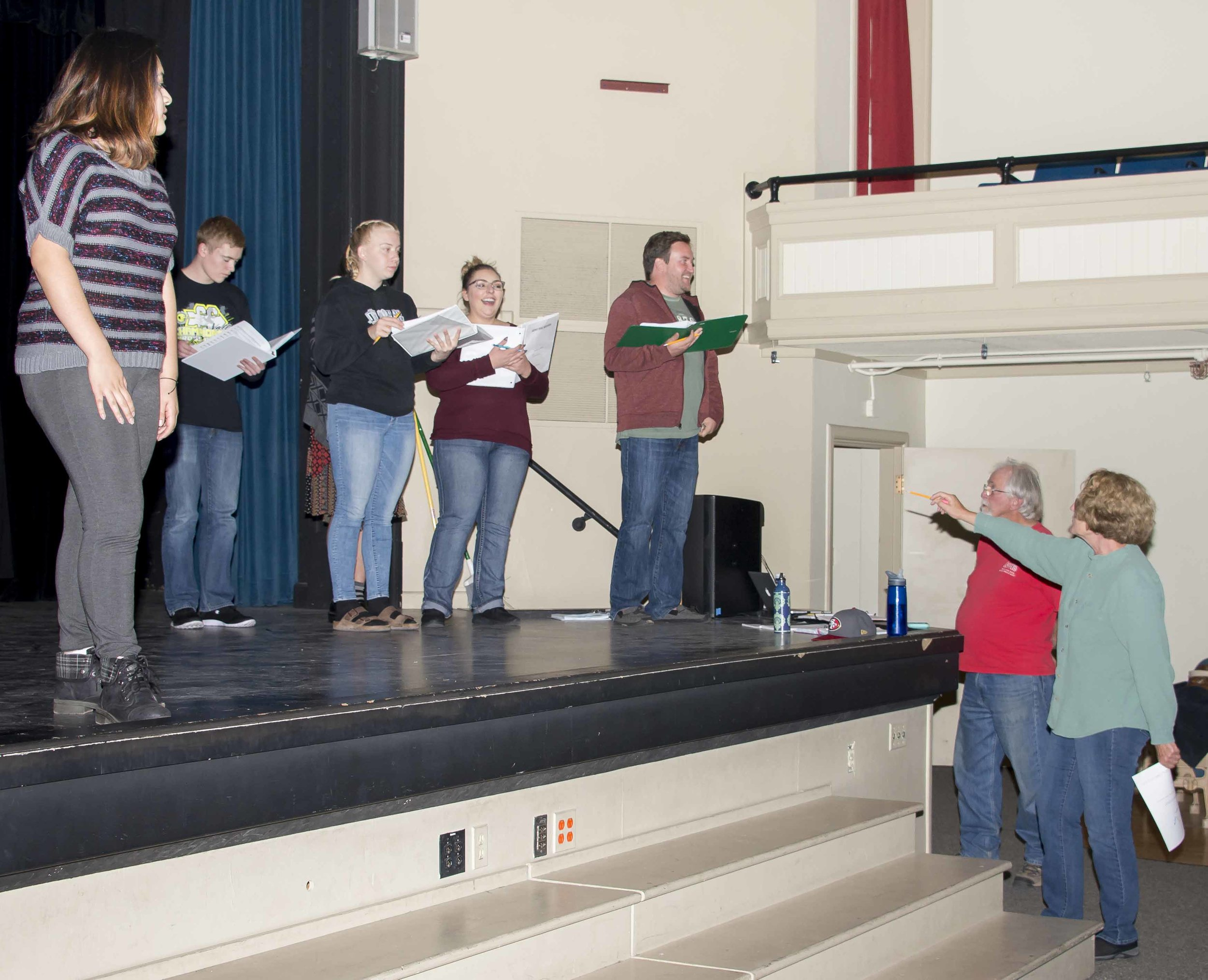 Rehearsal under the Direction of Martha Reynolds and Dave Hardin.JPG