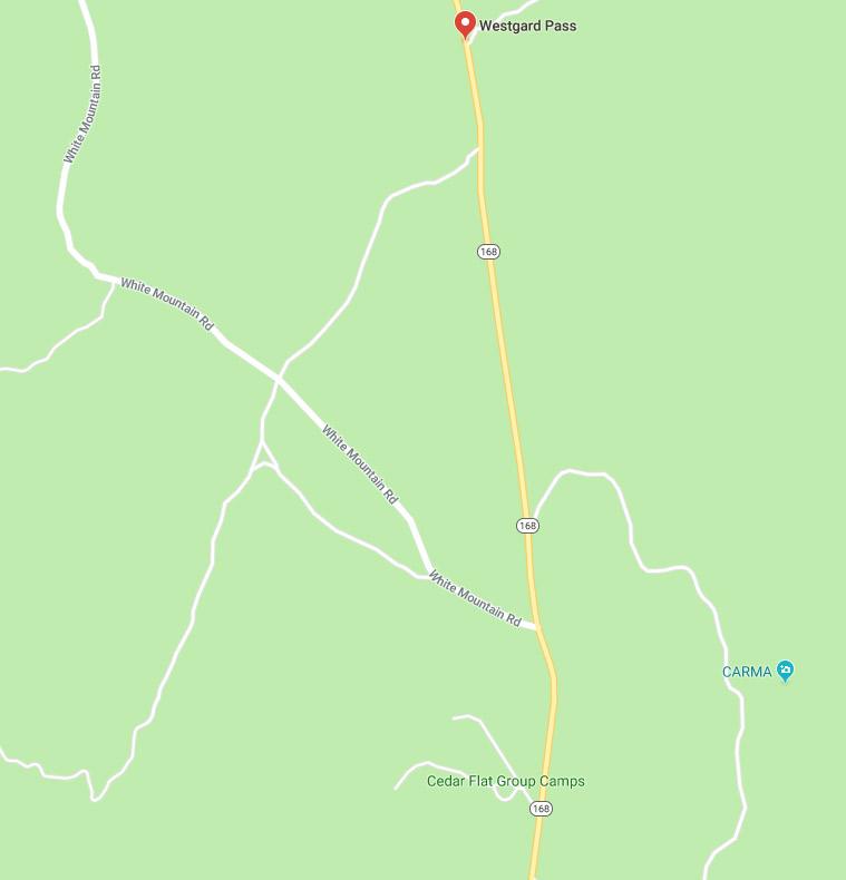 Caltrans: Westguard Pass Open to White Mountain Road