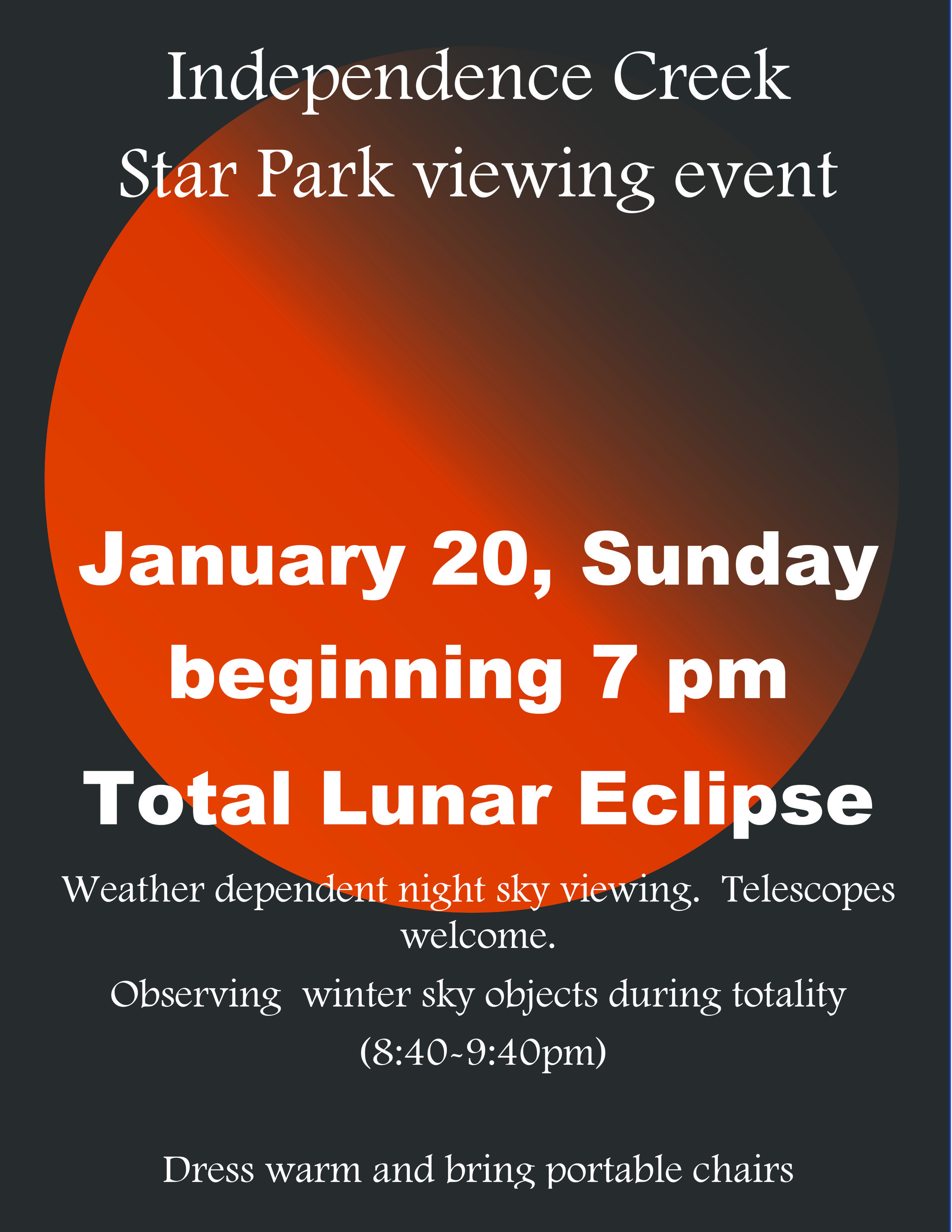 Independence Creek Star Park viewing event.jpg