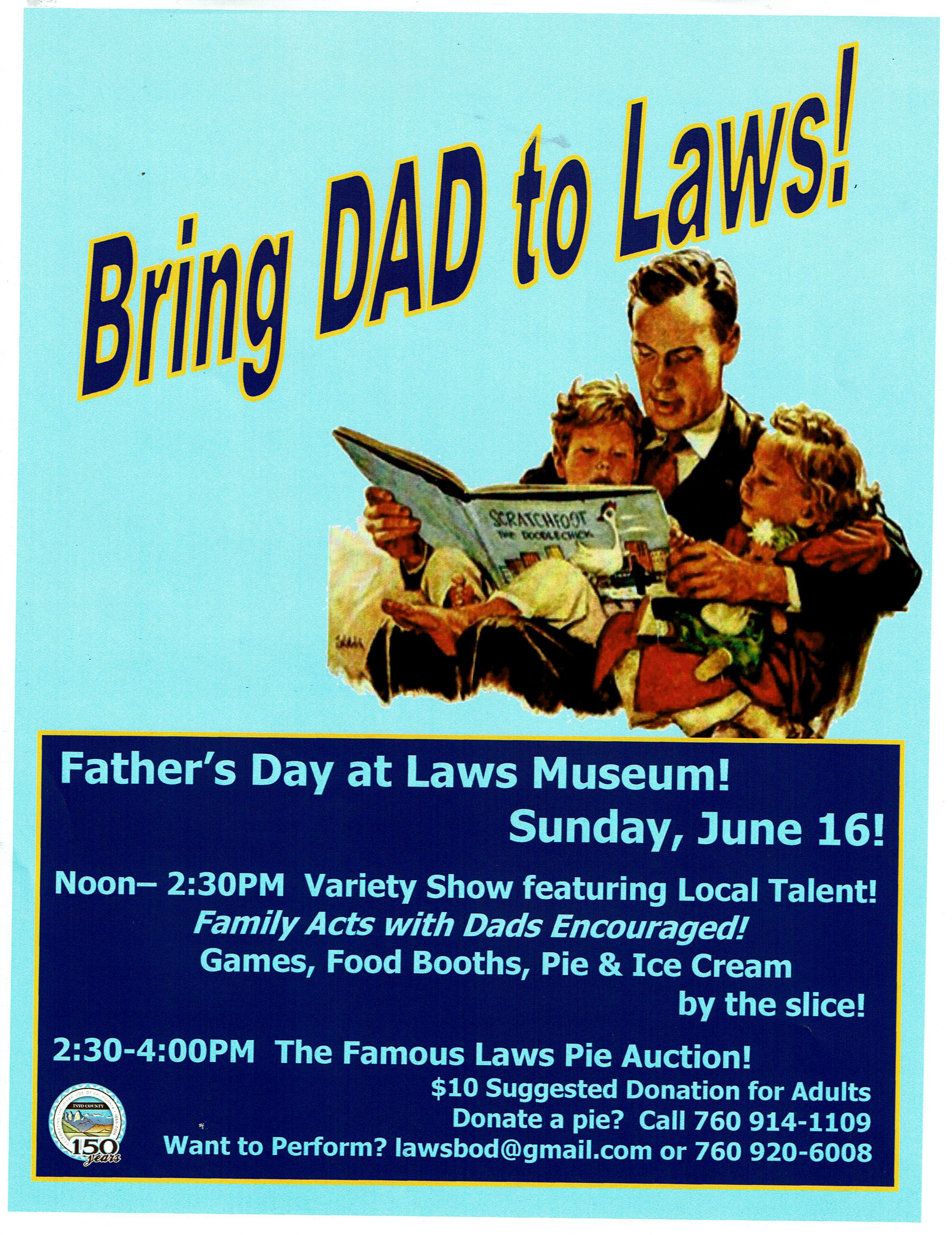 Laws Museum: Father's Day — Blogging Bishop