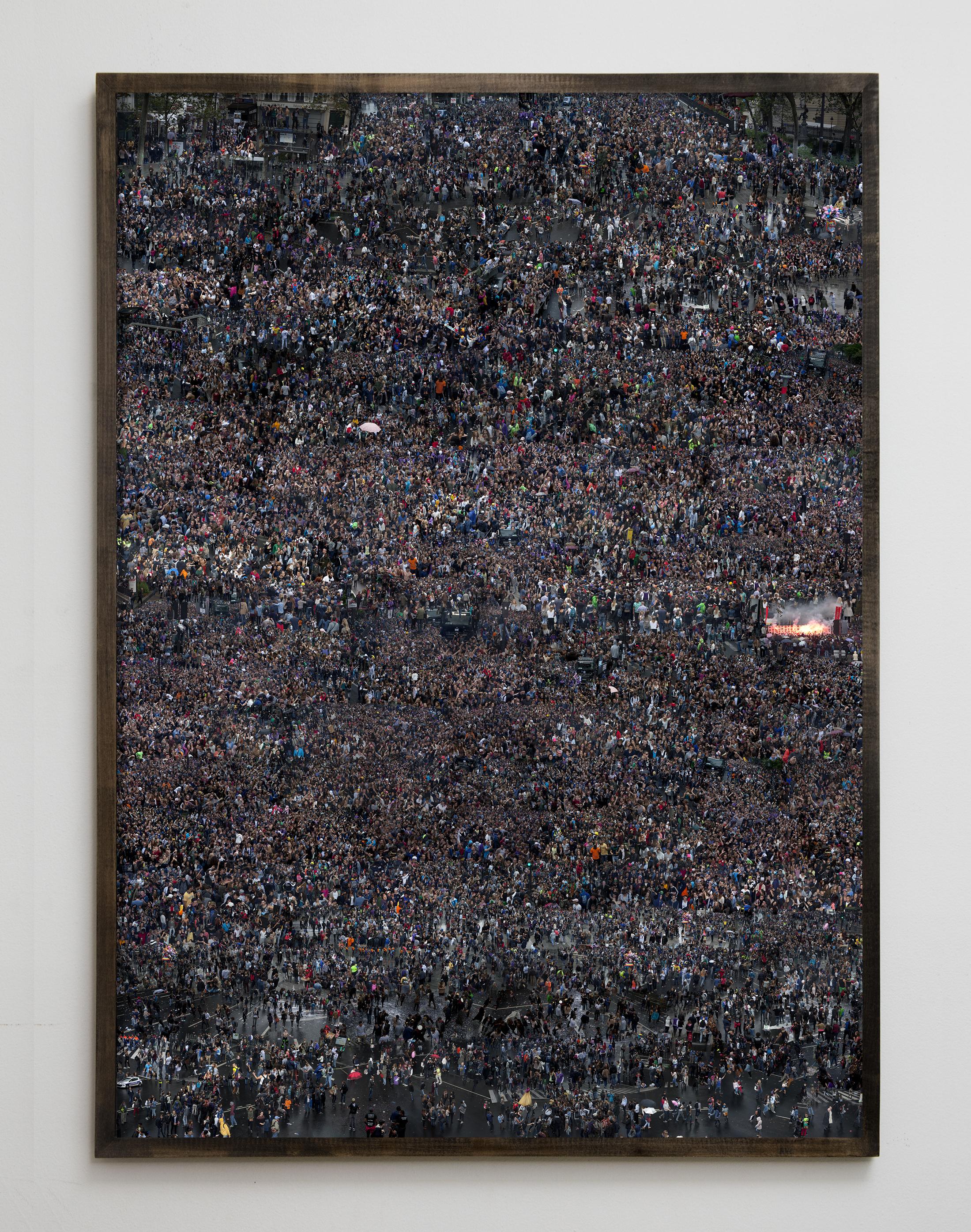Untitled (Paris). Digital C Print. 71X100 inches