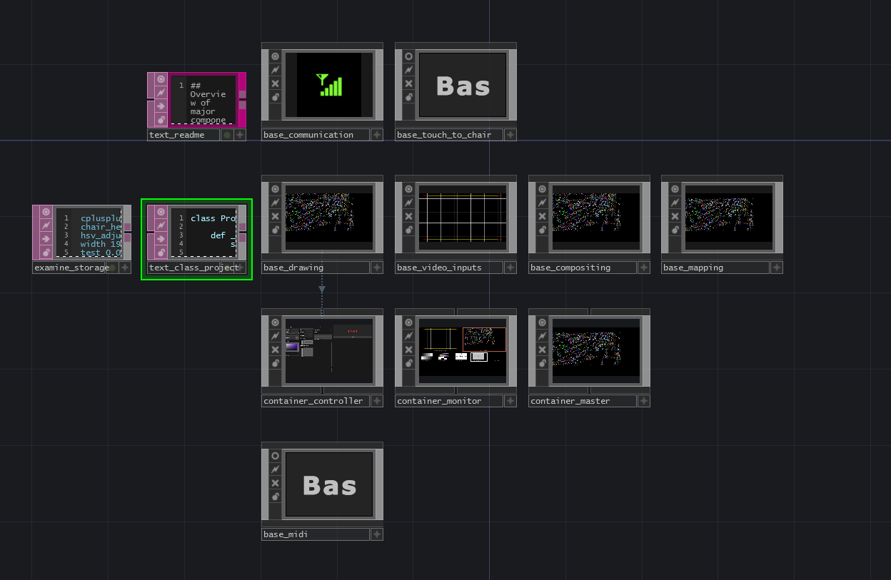 Top-level TouchDesigner components