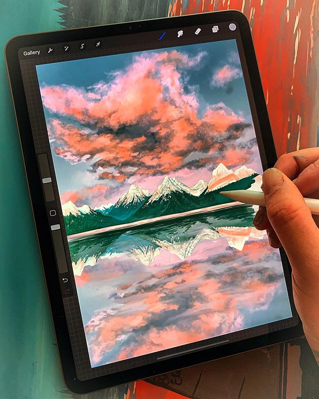 SO! You know when you get addicted to something new and it's ALL you wanna do? Well, me and my iPad Pro and Apple Pencil lol I'm putting it down for the rest of the day (other than work related things) but HOW FUN!  www.woodensense.com . . . #Woodensense#Art#Artist#Paint#Painting#AcrylicPainting#InstaArt#PNW#PacificNorthwest#Graphicart#Washington#WoodWorking#Graphicdesign#Painter#PNWonderland#FineArt#Wander#RealisticArt#WestCoast#Artwork#Applepencil#Trees#Seattle#Orcas#ArtOfTheDay#NaturePainting#WoodArt#WoodWorkingporn#PhotoRealism#ipadpro