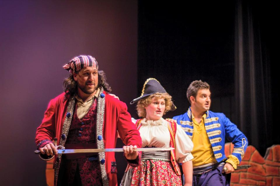 Ryan Hill, Pirate King  Alana Sealy, Ruth  Christopher Nelson, Frederic