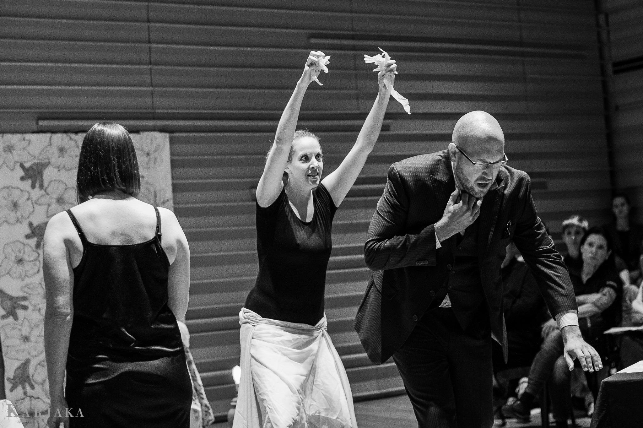 Denise Crawfort, Victoria  Christine Duncan, Dancer