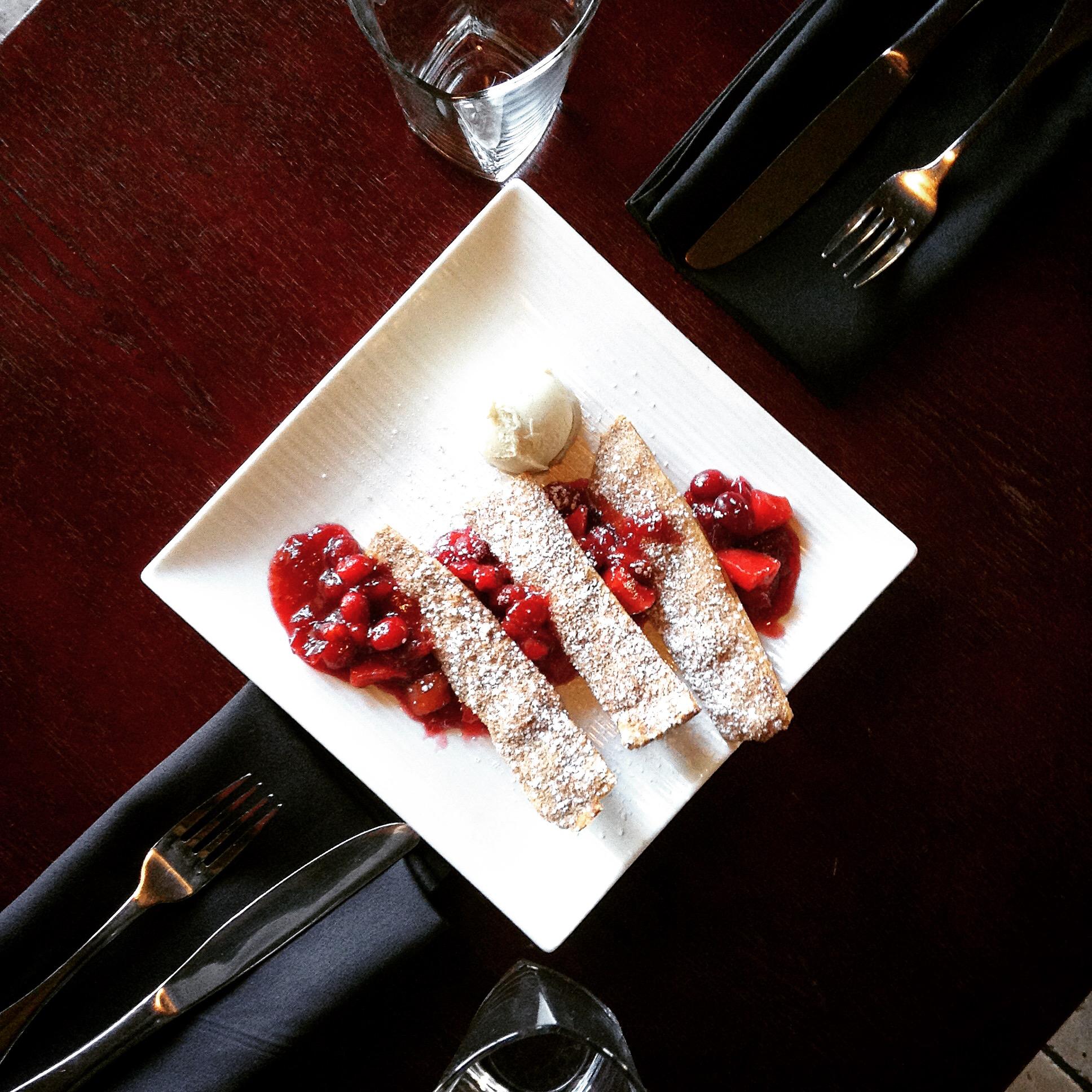 "shizuka apple & heirloom cranberry ""pie"""