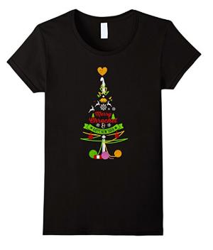 """Merry Crochet and Happy New Yarn"" T-shirt"