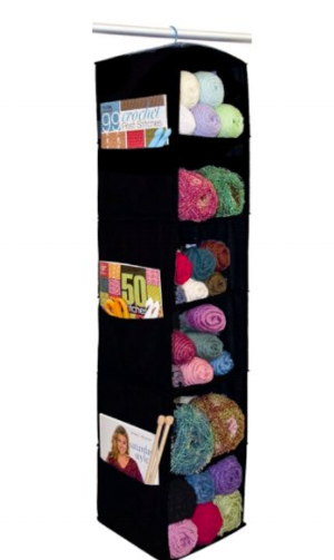 Ditto on always needing  more yarn storage . This looks like a nice addition to my closet :)