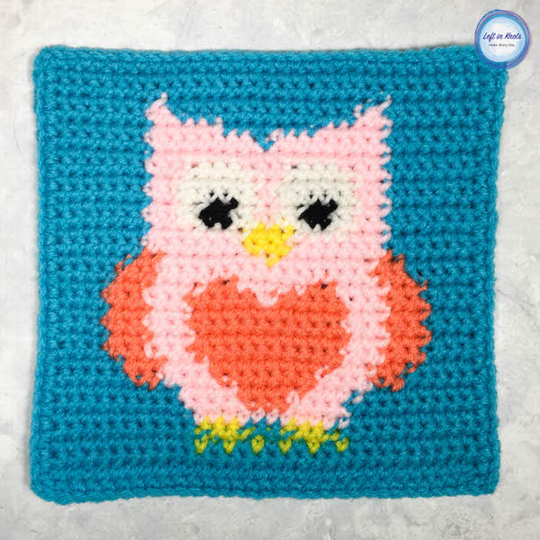Grids for Kids Forest Friends: Owl